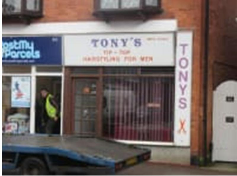 Tony's Tiptop Hairstyling for Men