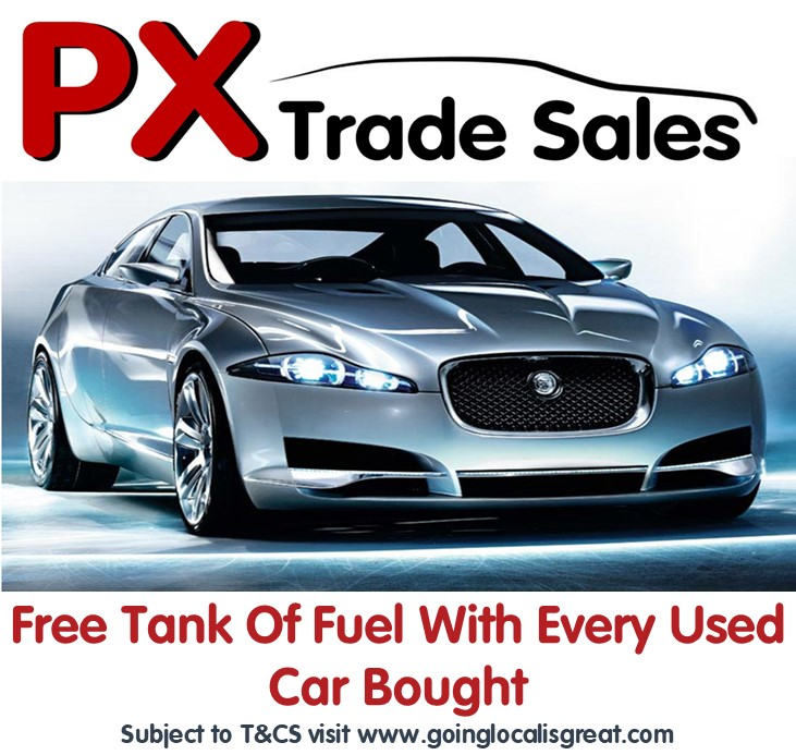Free Tank Of Fuel With Every Car Purchased