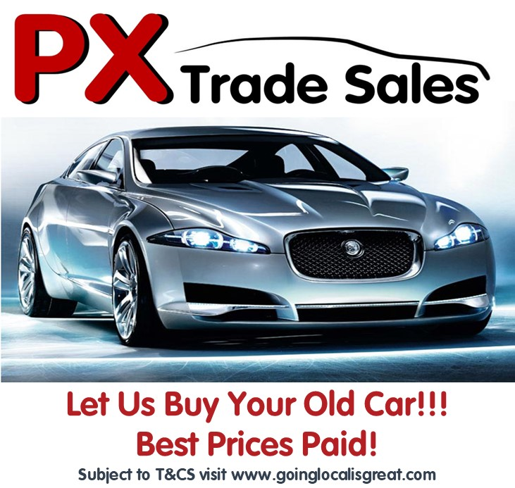 PX Trade Sales  - Cars Wanted ... Best Prices Paid